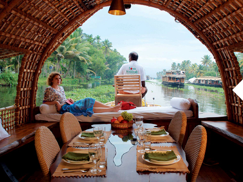 Traditional Kerala Houseboats In Alleppey Soma Houseboats